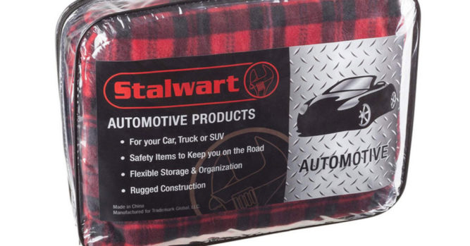 Plug This Electric Blanket Into Your Car To Keep Yourself Nice And Warm Winter