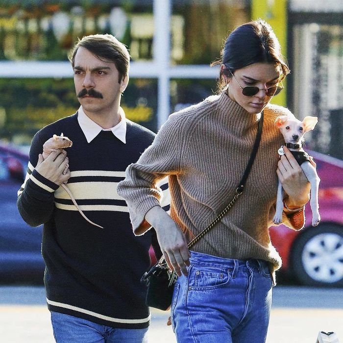 Man Keeps Photoshopping Himself Into Kendall Jenner's Pics