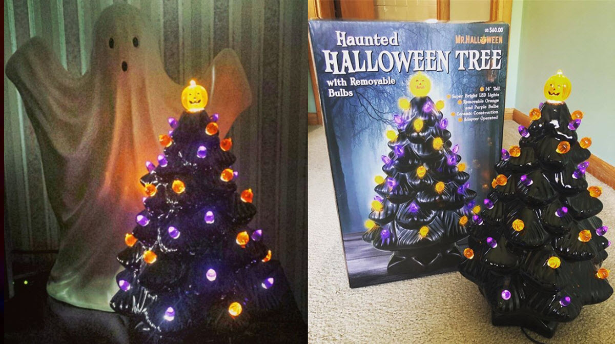 Halloween Trees Are The Newest Fall Decorating Trend And They Re Flying Off The Shelves Inner Strength Zone